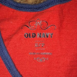 Old Navy Tops - Old Navy Red/White Striped Tank Top